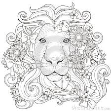 Small Picture Image result for lion coloring pages for adults COLORING PAGES