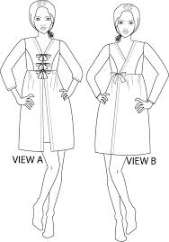 Robe Sewing Pattern Simple Sybil Robe PDF Sewing Pattern XXS To 48XL GreenStyleCreations