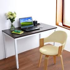 home office computer furniture. Office Computer Furniture Black Walnut Color Wooden Table Home Desk