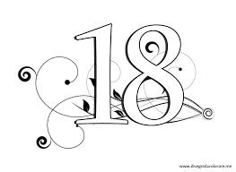 Pagine Da Colorare Stampabili Disegno Numeri Da Colorare Disegni