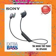 Tai Nghe Bluetooth Thể Thao Chống Ồn Sony WI-SP600N - Hàng Chính Hãng Sony  Việt Nam