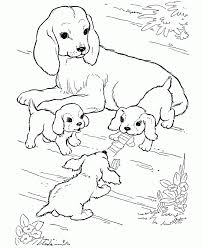 Small Picture Dog Coloring Pages For Kids Colour With Image Of Dog Coloring 11 5670