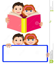 royalty free vector smiling boy and a holding an open book children read cute stock p