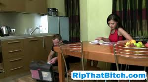 Blonde Has Clothes Ripped Off on GotPorn 5138321
