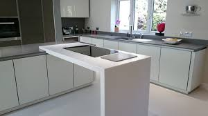 White Laminate Kitchen Worktops Grey Krion Bright Concrete White Krion White Star Worktop