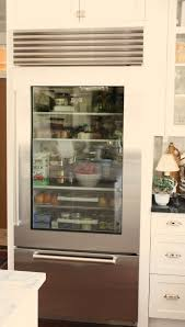 the glass door refrigerator