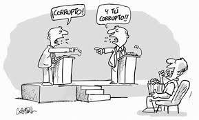 Resultado de imagen para caricaturas de alcaldes corruptos