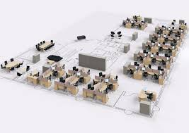 office space planner. Delighful Planner 3D Office Space Plan In Planner