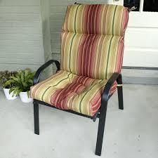 high back outdoor chair cushions cushion 2 pack