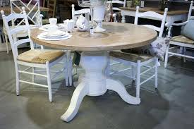 round distressed kitchen table image of rustic round dining table white distressed kitchen table diy