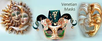 Decorative Masquerade Masks Venetian Masks for Masquerade Carnival Handcrafted in Italy 100