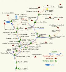 Lukla Approach Chart Gokyo Lakes Trek To Everest Base Camp Expert Guide Ebc Trek
