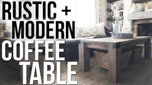 rustic modern coffee tables. Delighful Tables YouTube Premium With Rustic Modern Coffee Tables O
