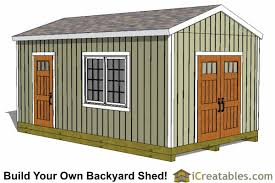 Small Picture 12x20 Shed Plans Easy to Build Storage Shed Plans Designs