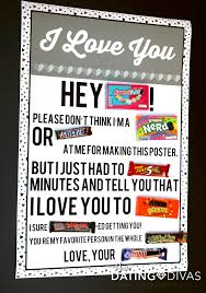 Welcome Home Candy Poster For My Boyfriend So Cute