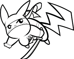 Pikachu Coloring Page Pages Easy S Cute Birthday Coloring Pages