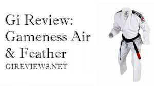 Gi Review Gameness Air And Feather Brazilian Jiu Jitsu Gi