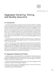 Astm Gradation Chart Chapter 3 Aggregate Sampling Testing And Quality