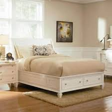 Awesome Nicholson 4 Piece White Bedroom Set