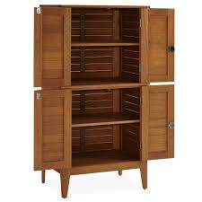 Outdoor Storage Cabinets With Doors Montego Bay Four Door Multi Purpose Storage Cabinet Homestyles