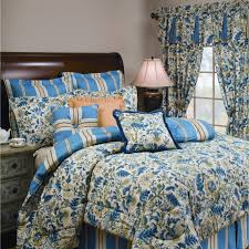 bedroom bedroom contemporary bedroom interior with decorative table lamp plus blue waverly toile bedding theme decor stunning