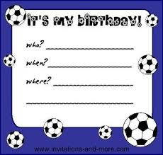 Soccer Party Invitation Template Birthday Party Invitation Templates Printable Red Soccer