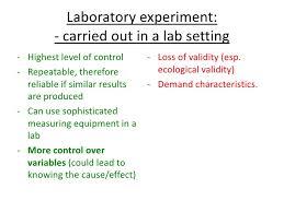 research methods psya psychology as laboratory