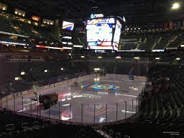 Nationwide Arena Club 10 Columbus Blue Jackets