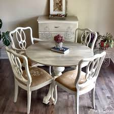 extendable kitchen table distressed dining table farmhouse trestle table