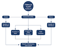 Senate Hierarchy Chart Legislative Branch Tennessee Secretary Of State