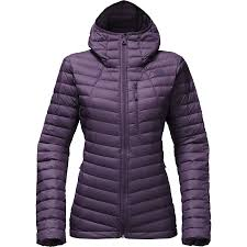 the north face premonition hooded down jacket women s