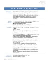 special education teacher resume samples tips and templates special education teacher resume sample and examples
