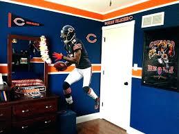 chicago bears wall art bears bedroom ideas bears wall decor my sons bears bedroom impressive my chicago bears wall art
