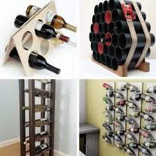 diy wine rack. Interesting Diy Roundup Of 24 Awesome DIY Wine Racks You Can Make  Home Decor Throughout Diy Wine Rack