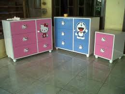 hello kitty furniture. Lemari Nakas Laci HELLO KITTY \u0026 DORAEMON Hello Kitty Furniture K