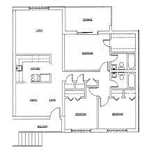 3 bedroom flat plan drawing lovely 3 bed new model house plan emiliesbeauty