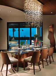 dining room contemporary chandelier lighting
