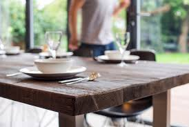 reclaimed wood dining tables by mac wood