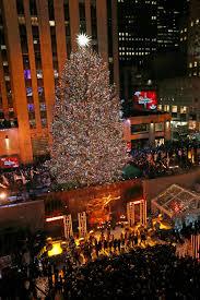 Rockefeller Tree Lighting 2019 Tis The Season Rockefeller Center Christmas Tree Lights Up