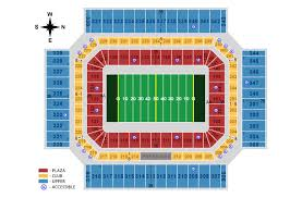 Superdome Seating Chart With Row Numbers Seating Charts Alamodome