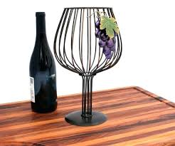 wine glass cork holder wine cork holder in shape of wine glass metal wine glass cork