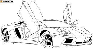 Awesome Car Coloring Pages Car Coloring Pages The Most Important