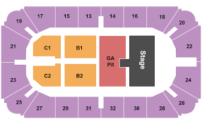 Hobart Arena Seating Chart Troy
