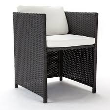 charcoal 11 piece wicker outdoor dining table and chair set by london rattan