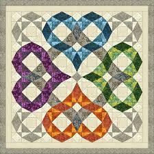 Best 25+ Storm at sea quilt ideas on Pinterest   Traditional quilt ... & Storm at Sea Quilt Pattern Wedding / Heart / by QuiltPatterns Adamdwight.com