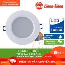 Đèn LED âm trần Rạng Đông 3W, 5W, 7W, 9W ChipLED SAMSUNG