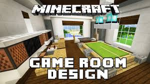 video game room furniture. Minecraft Tutorial: How To Make Furniture For A Game Room (Modern House Build Ep. 28) - YouTube Video E
