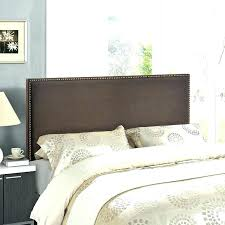 king size mink brown genuine leather tufted headboard double transitional headboards faux leather headboard