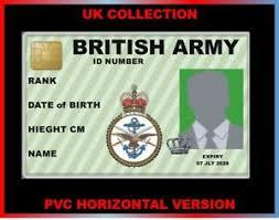 Ebay Card Army Military Royal Id Uk Collector