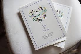 Wedding Ceremony Program Cover 30 Of The Best Ceremony Booklet Ideas Weddingsonline